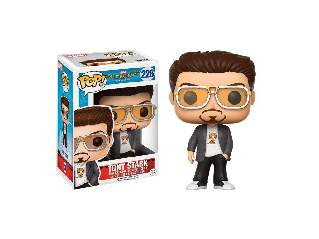 Funko POP! Tony Stark 9 cm Spiderman