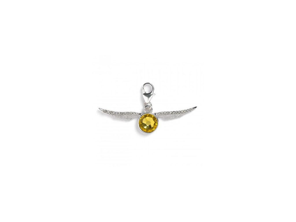 hp crystal snitch charm