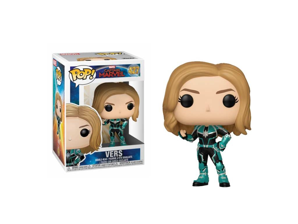 Funko POP! Vers 9 cm Captain Marvel