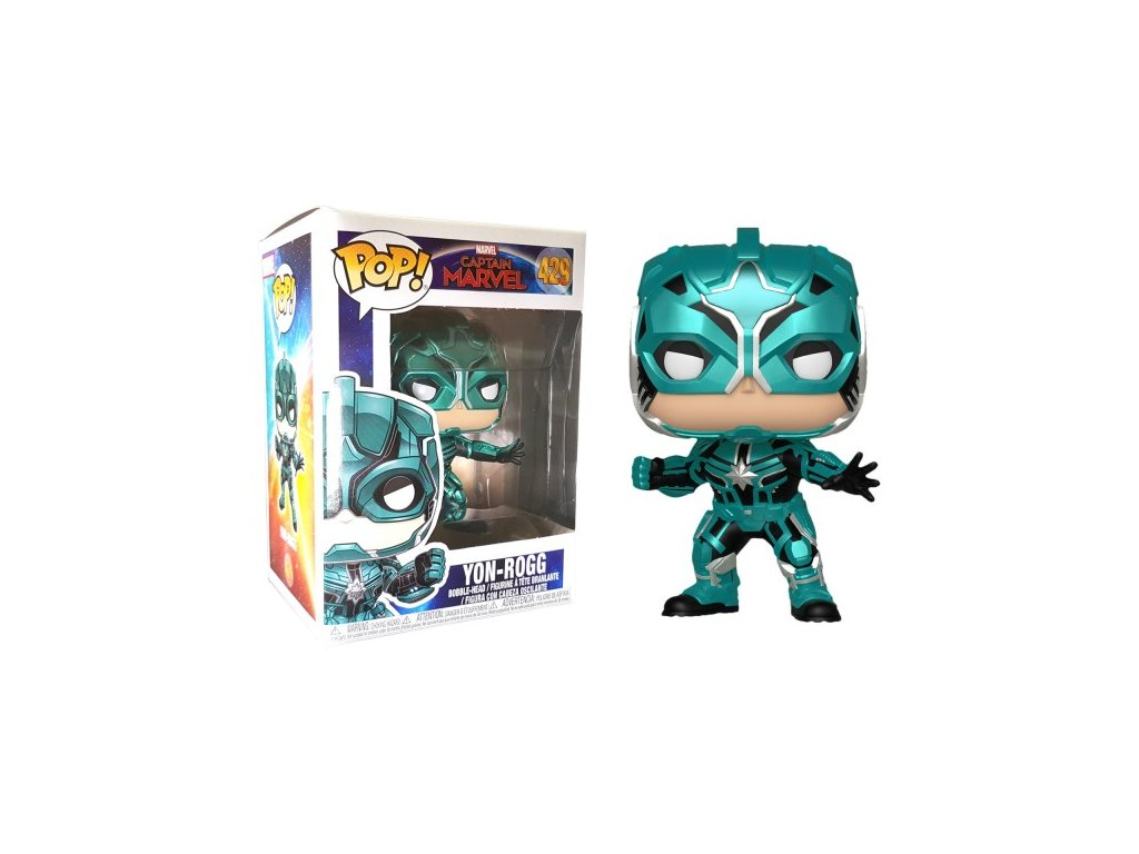 Funko POP! Yon-Rogg 9 cm Captain Marvel