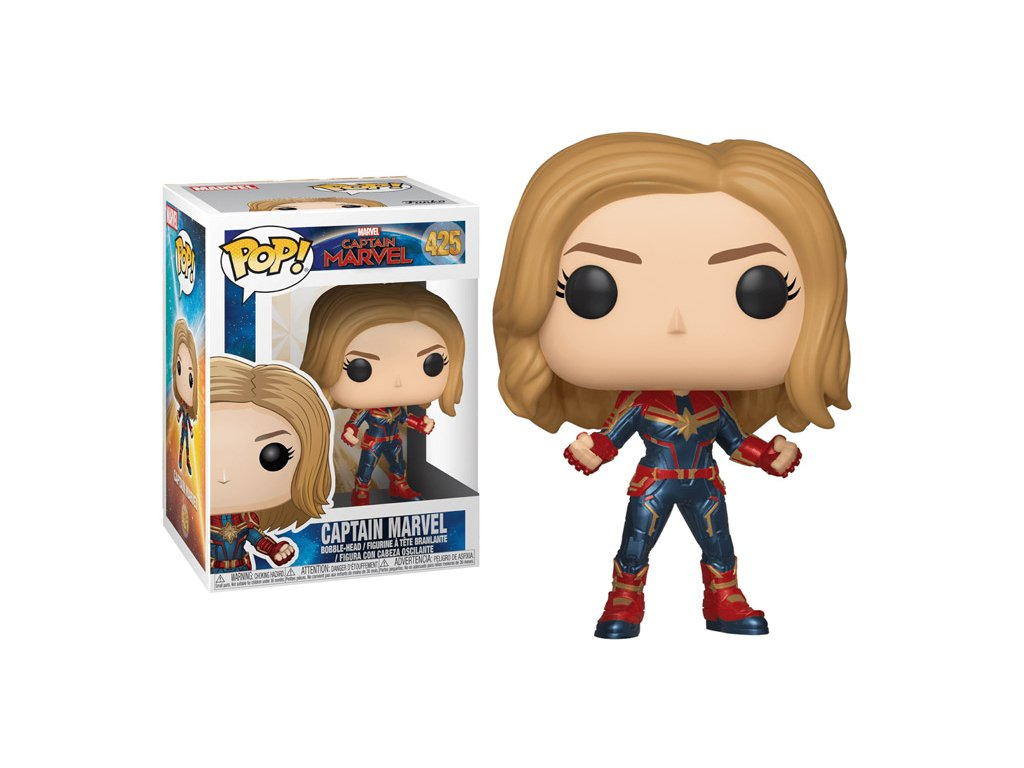 Funko POP! Captain Marvel 9 cm Captain Marvel