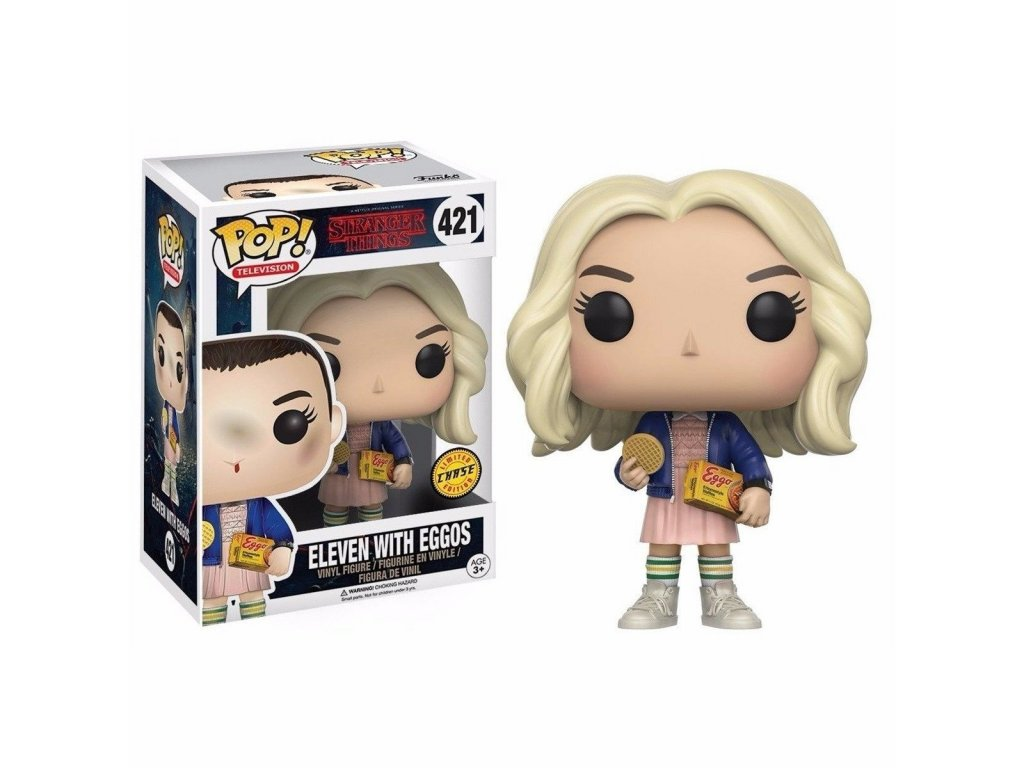 Funko POP! Eleven with Eggos CHASE 9 cm Stranger Things