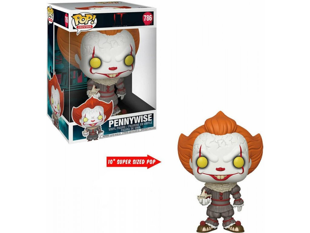 Funko POP! Super size Pennywise with Boat 25 cm It