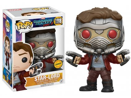 Funko POP! Star Lord 9 cm Strážci galaxie CHASE