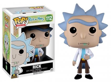 Funko POP! Rick 9 cm Rick & Morty