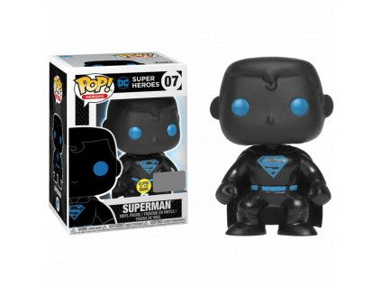 funko pop! justice league superman silhouette glow in the dark (07) 2