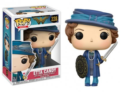 Funko POP! Wonder Woman Movie Vinyl Figure Etta 9 cm