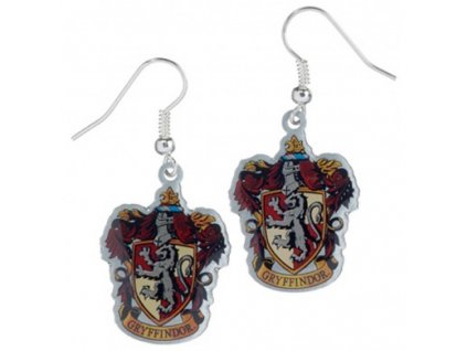 hp earrings gryffindor 1