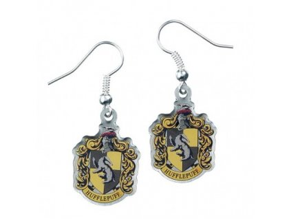 hp earrings hufflepuff