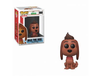 Funko POP! Max The Dog 10 cm Grinch