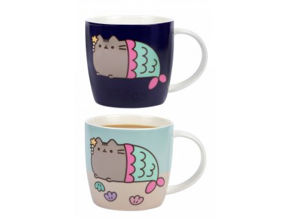 Měnící hrnek Mermaid Pusheen