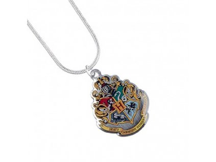 hp necklace hogwarts crest c