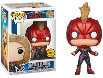 Funko POP! Captain Marvel CHASE 9 cm Captain Marvel