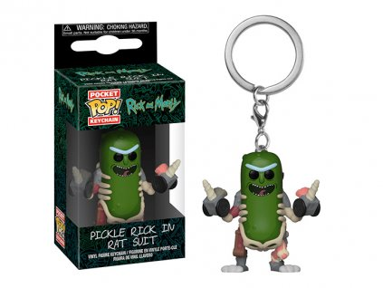 Funko POP! Klíčenka Rat Suit 4 cm Rick & Morty