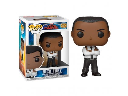 Funko POP! Nick Fury 9 cm Captain Marvel