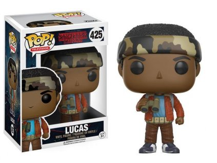 Funko POP! Lucas with Binoculars 9 cm Stranger Things