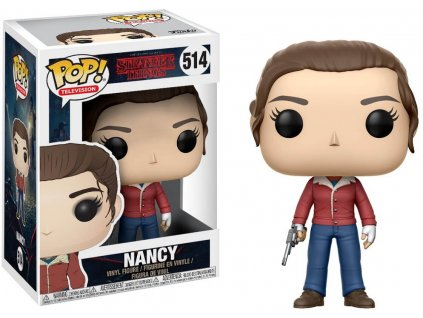 Funko POP! Nancy with Gun 9 cm Stranger Things