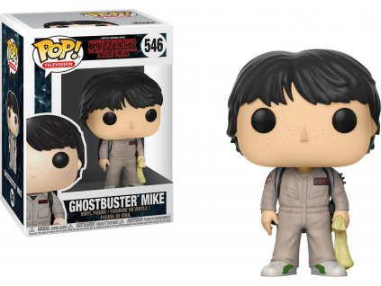 Funko POP! Mike Ghostbuster 9 cm Stranger Things