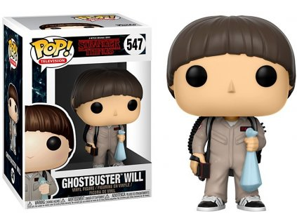 Funko POP! Will Ghostbuster 9 cm Stranger Things