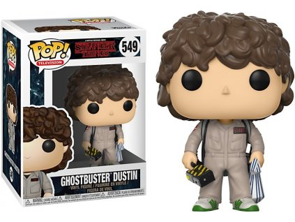 Funko POP! Dustin Ghostbuster 9 cm Stranger Things