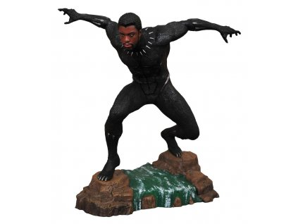 Soška Black Panther Unmasked 23 cm Black Panther