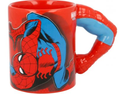 3D Hrnek Spiderman Marvel
