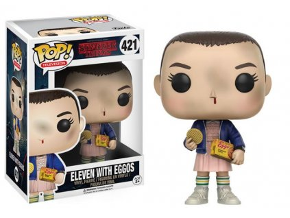 Funko POP! Eleven with Eggos 9 cm Stranger Things