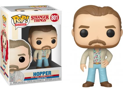 Funko POP! Hopper Date Night  9 cm Stranger Things
