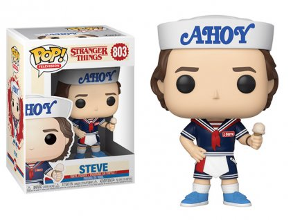Funko POP! Steve Ahoy 9 cm Stranger Things