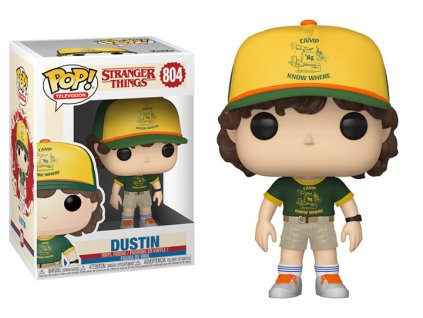 Funko POP! Dustin Camp 9 cm Stranger Things
