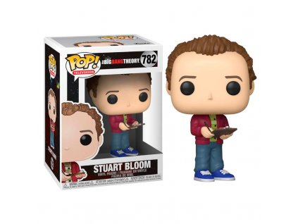 Funko POP! Stuart Bloom 9 cm The Big Bang Theory