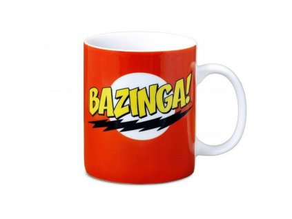 Hrnek Bazinga The Big Bang Theory
