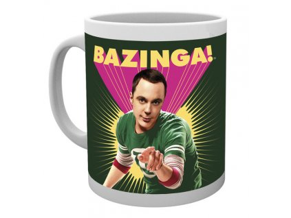 Hrnek Bazinga Sheldon The Big Bang Theory