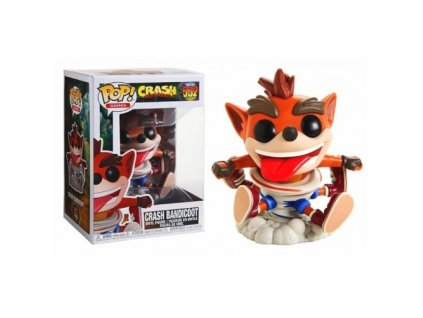 Funko POP! Crash Spinnng 9 cm Crash Bandicoot