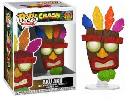 Funko POP! Aku Aku 9 cm Crash Bandicoot