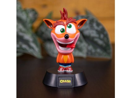 3D Lampička Crash 10 cm Crash Bandicoot