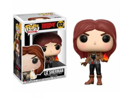 Funko POP! Liz Sherman 9 cm Hellboy