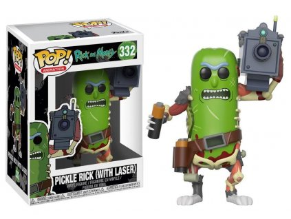 Funko POP! Pickle Rick with Laser 9 cm Rick & Morty
