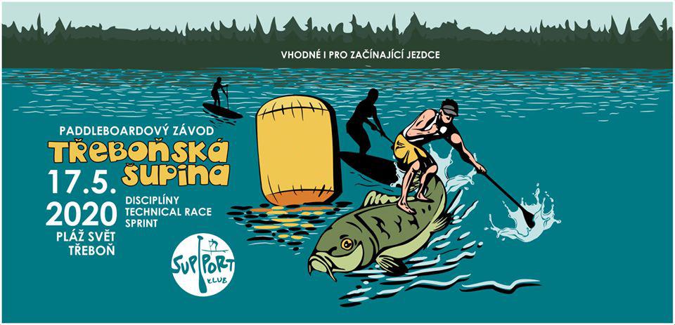 Paddleboardshop.cz je hrdým partnerem SUP závodů Třeboňská šupina