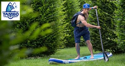 TAMBO a Jirka Prskavec: Dražba unikátního paddleboardu