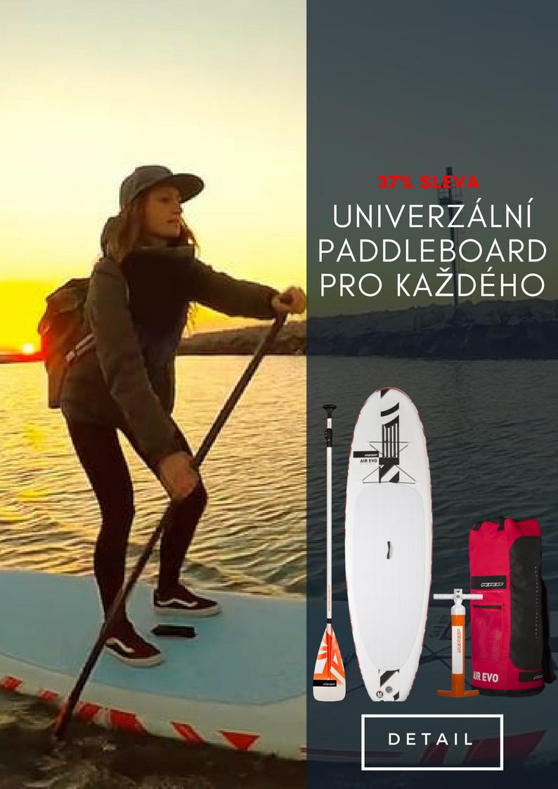 Evo paddleboard komplekt v super cenně