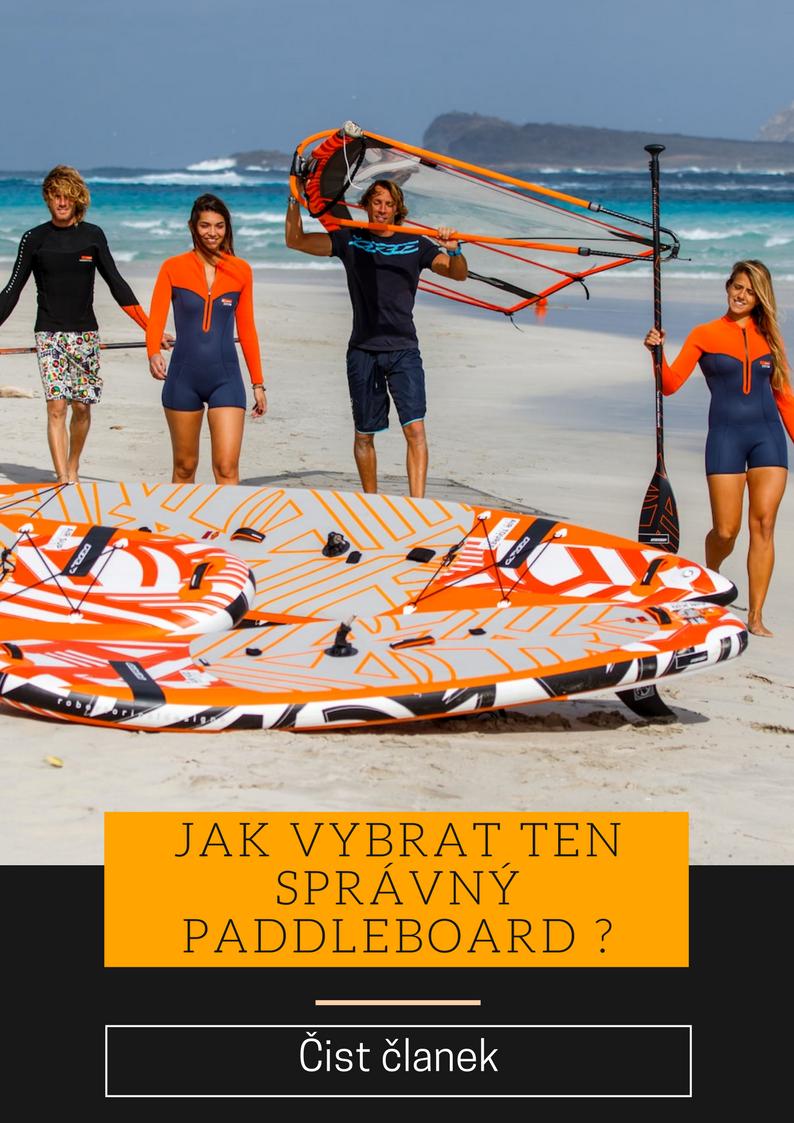 Jak vybrat paddleboard