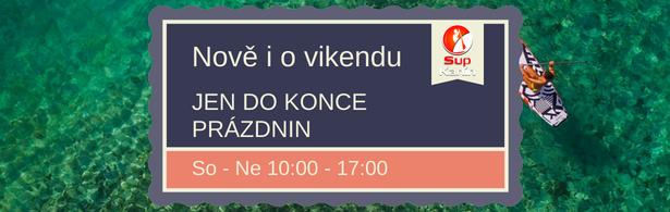 Provozní doba Paddleboardy.cz