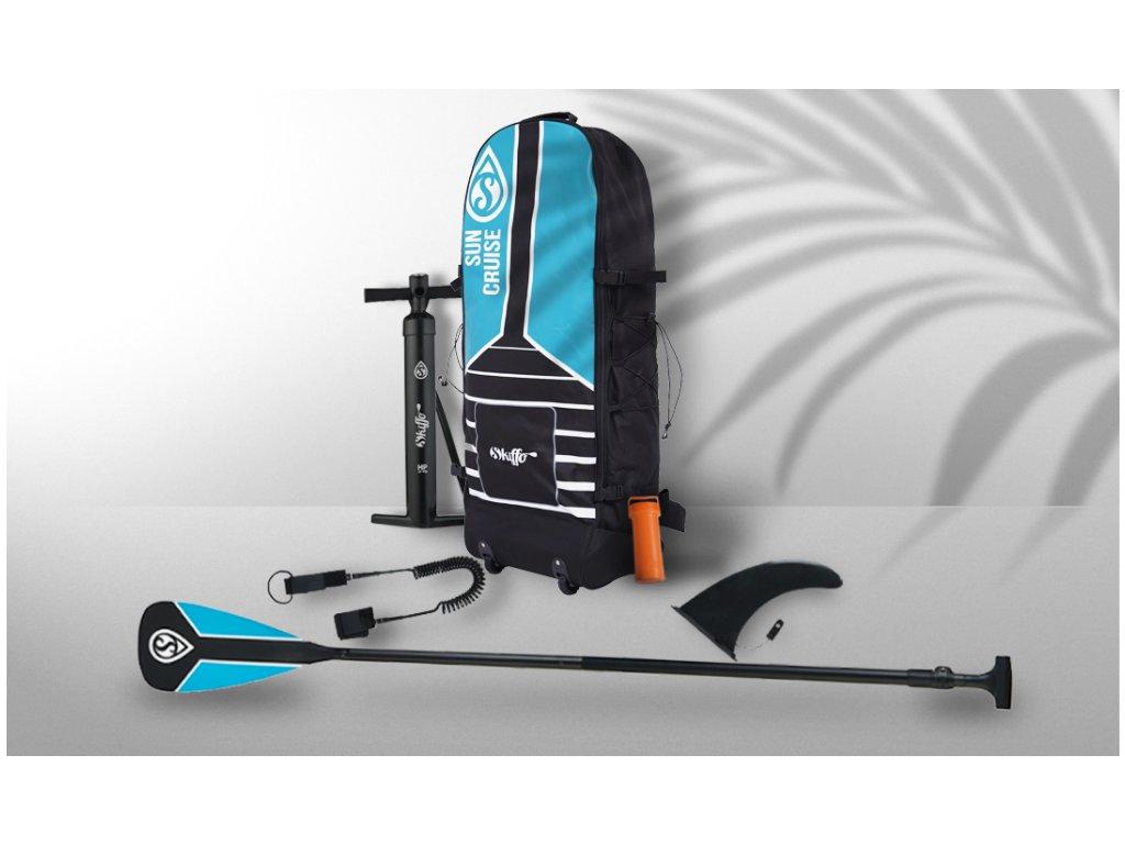 sun cruiser paddleboard skiffo komplet s padlem paddleboardy karlin 10;19