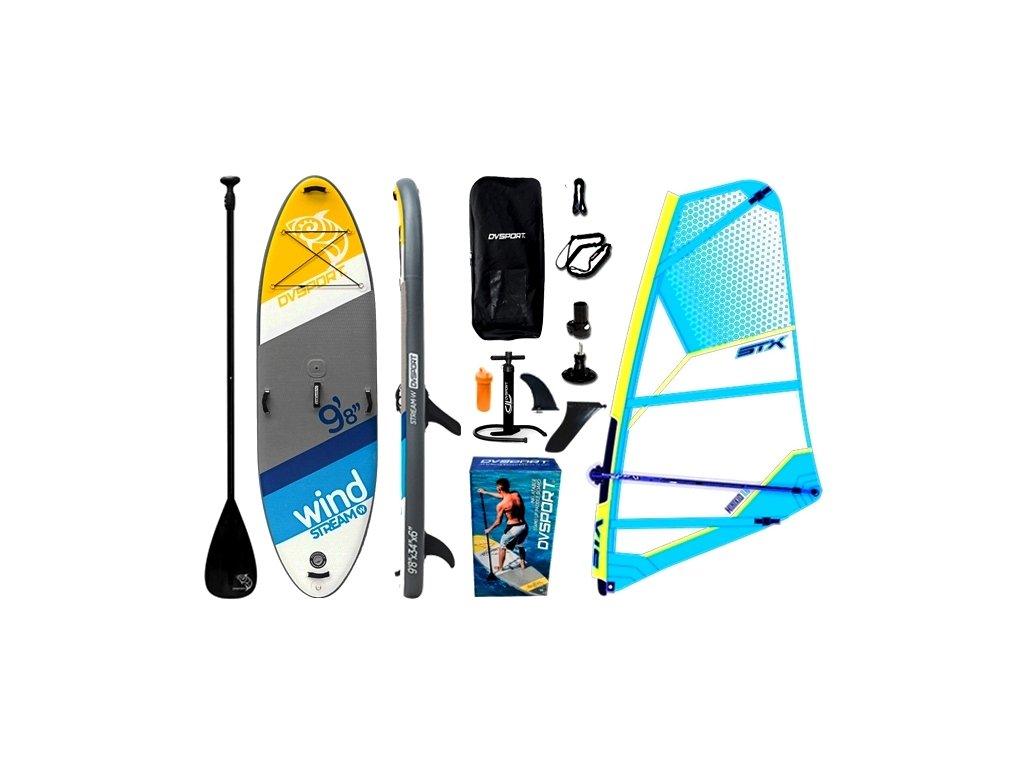 www.paddleboardy.cz DV Stream kompet STX Minikid