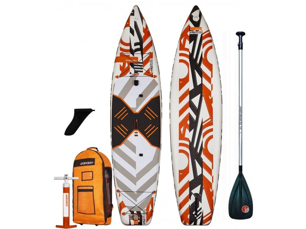 Nafukovací paddleboard RRD AirTourer V4 12'0x34x6 - komplet s pádlem