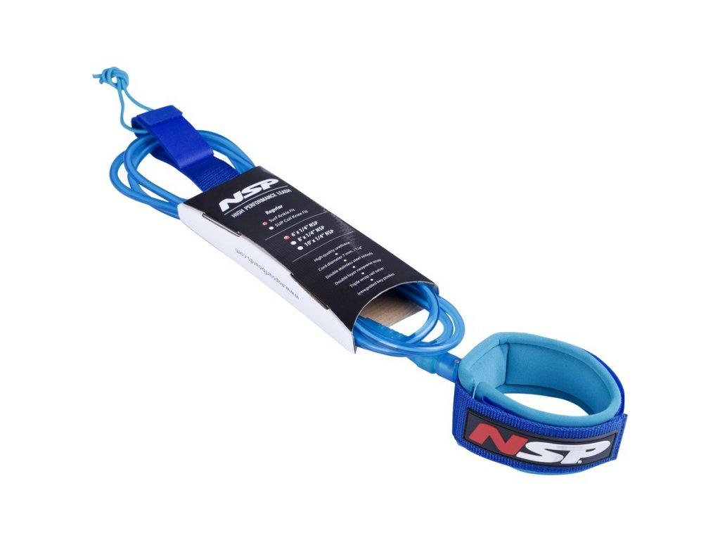 leash nps 6ft 7mm modrá