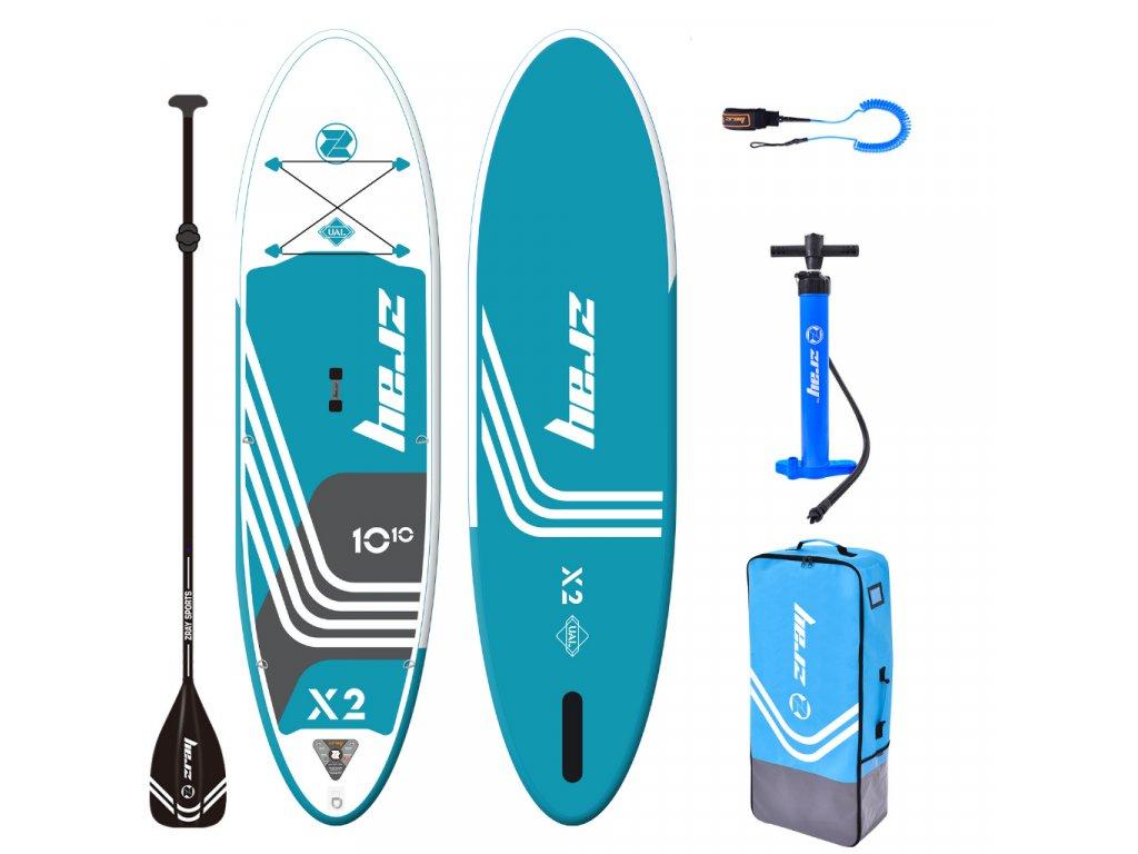 nafukovaci paddleboard x2 deluxe