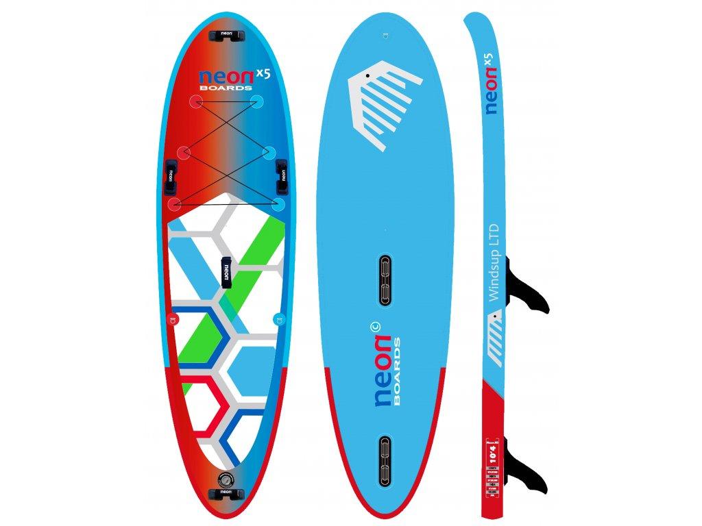 neon X5 10´4 x 6 x 34 new WS2