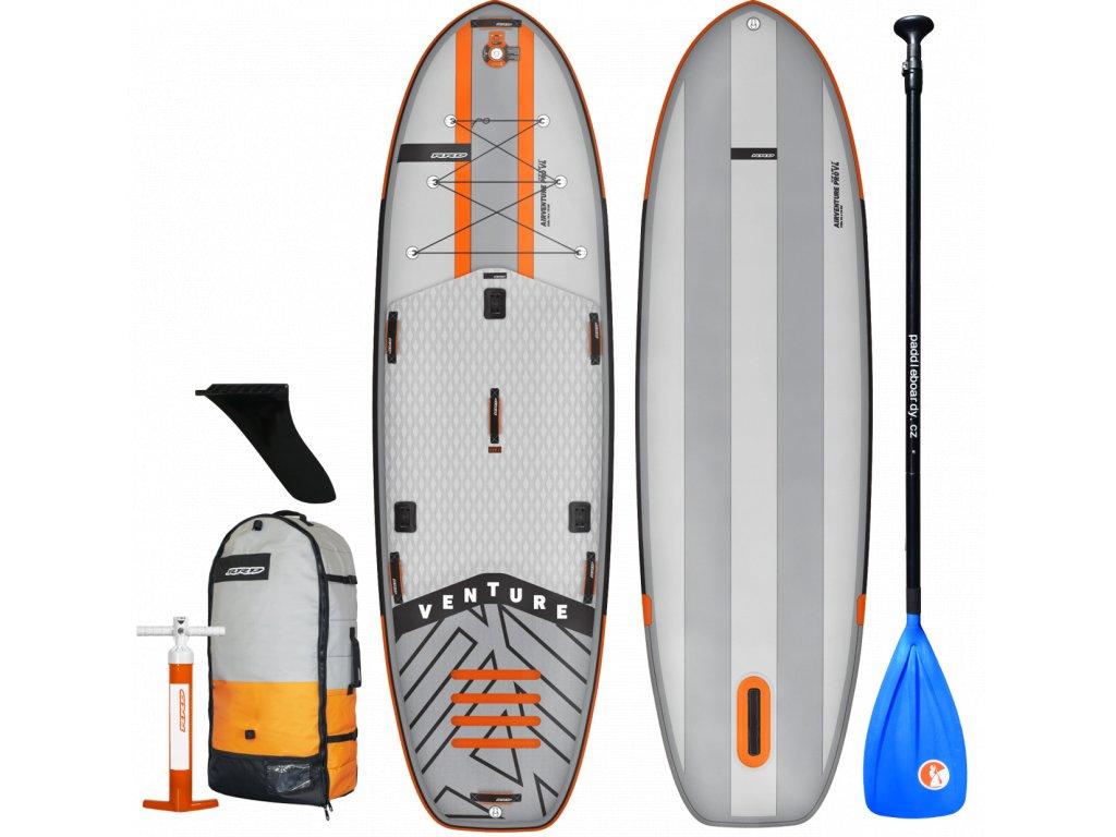 venture air rrd nafukovaci paddleboard rodinny komplet s padlem hlinik